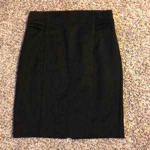 Express Pintuck Pencil Skirt